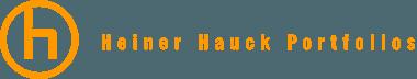 Speisekarten von Heiner Hauck Logo
